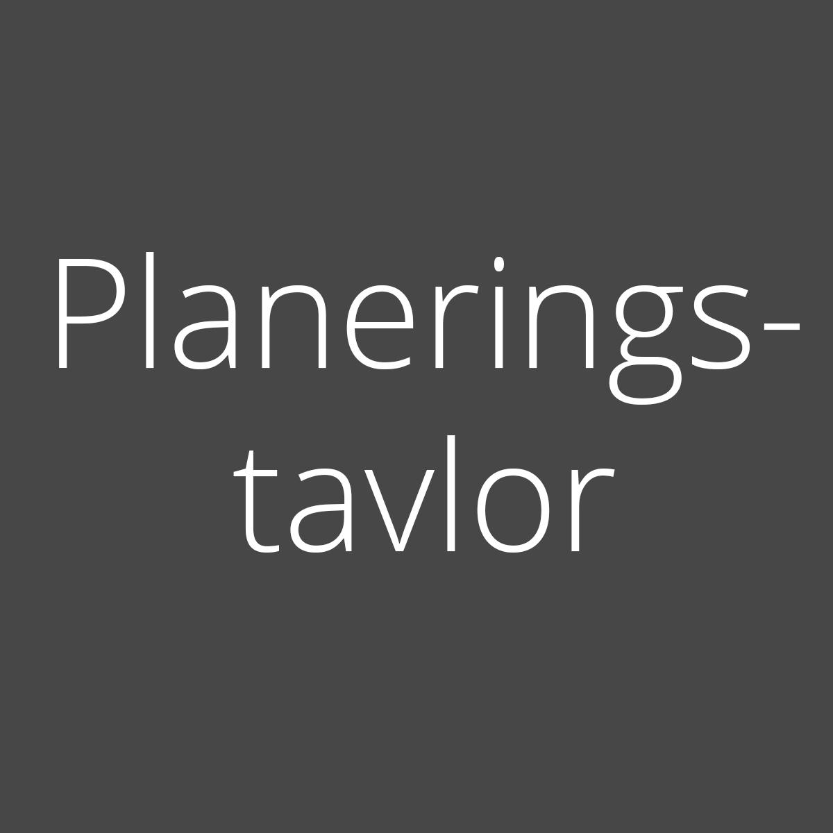 Planeringstavlor