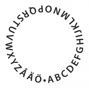 ABC i cirkel