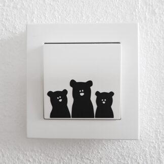 Nyfikna små björnar