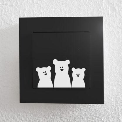 Björnar i vitt