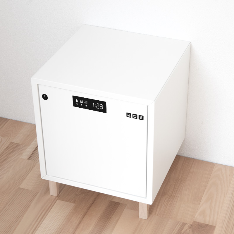 Diskmaskin på Eket-skåp