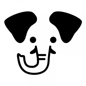 Elefant till barnstolen Antilop