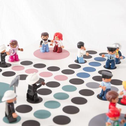 Lego Duplo som spelpjäser