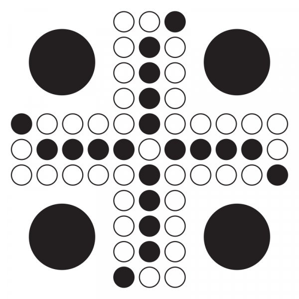Fiaspel, 51x51 cm