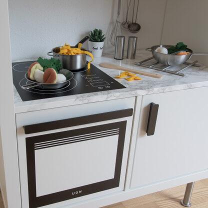 Spis och ugn i Kallax från IKEA