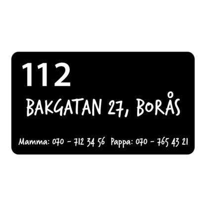 Vad ska kommas ihåg om du behöver larma 112?