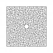 Labyrint i svart