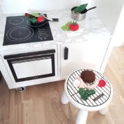 Minikök och liten grill