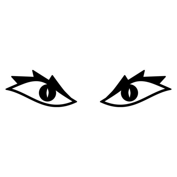 Lite läskiga ögon till din robotgräsklippare eller dammsugare