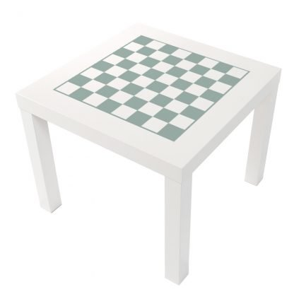 Schack i ljus grön pastell