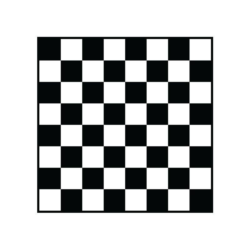 Schack med klassiskt svarta rutor