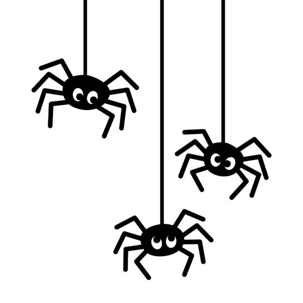 Spindlar till fönstret