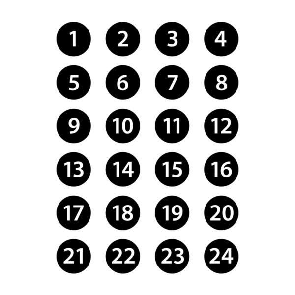 Stickers 1-24