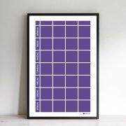 Planeringstavla i Ultra Violet
