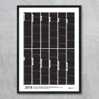 Årsplan 2018 med plats för anteckningar