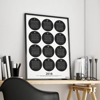Årsplan 2018 på skrivbordet