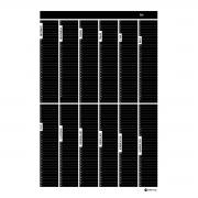 Årsplan - block (50x70 cm)