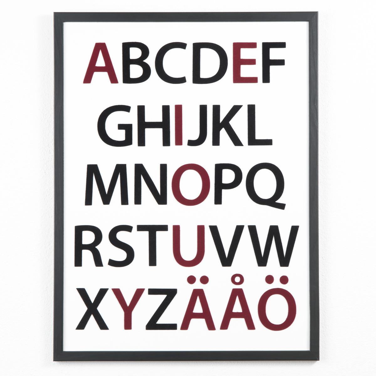 Alfabetet i ny tappning