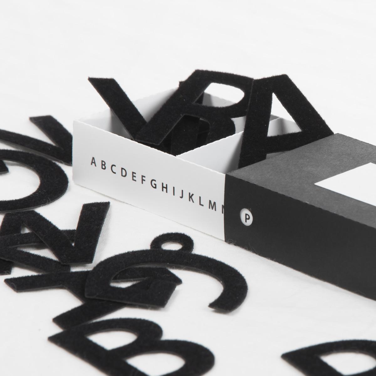 Magnetbokstäver A-Ö, versaler