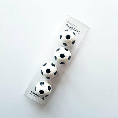 Fotbollsmagneter i förpackning