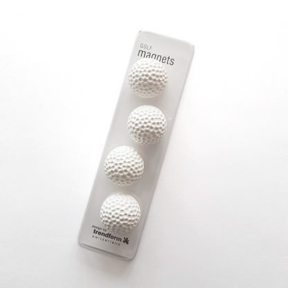 Golfbollsmagneter i förpackning