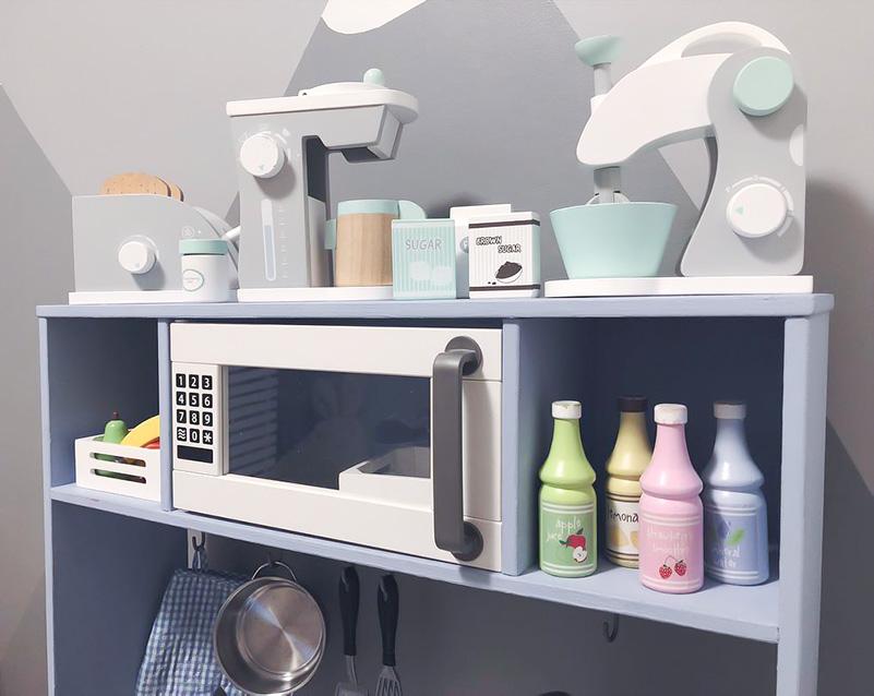 Söta tillbehör i det fina köket