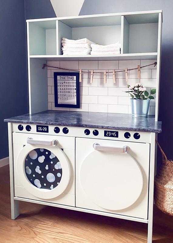 Duktig-köket som tvättstuga