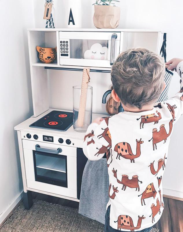 Kocken är redo att sätta igång