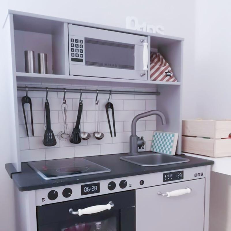 Fullutrustat Duktig-kök i fin grå färg